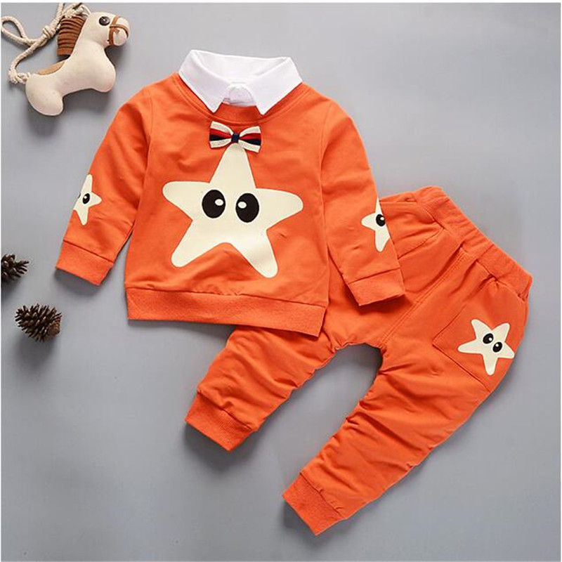 BibiCola 2018 Baby Boys Clothing Set Kids Clothing Sets Cartoon T-Shirt + Pants Autumn Spring Children Sports Suit Boys Clothes