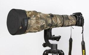 Image 4 - ROLANPRO DSLR Lens Cap Camouflage Jacket Short Telephoto Lens Guns Clothing for Sigma Tamron Canon Nikon 300/400/500/600/800mm