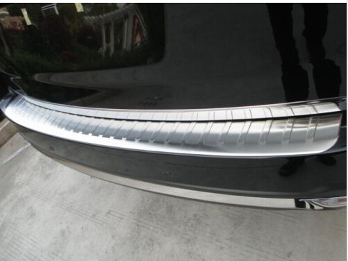 Stainless Steel Rear Bumper Sill Protector cover For Subaru Forester 2013 2014 2015