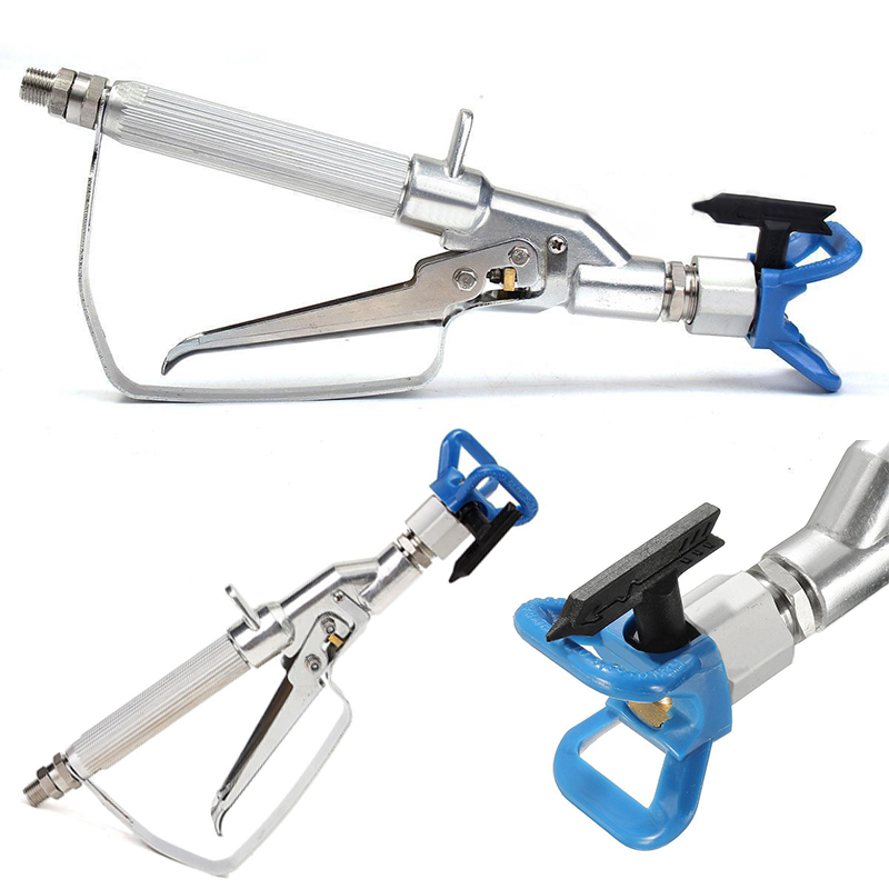 3600PSI Airless Inline Paint Swivel Spray Gun with 517 Tip New Hand tools