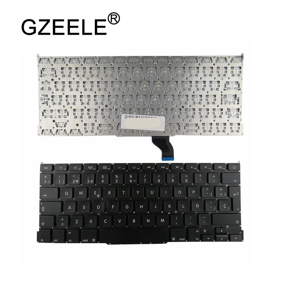 GZEELE Spanish For Apple for Macbook Pro Retina 13