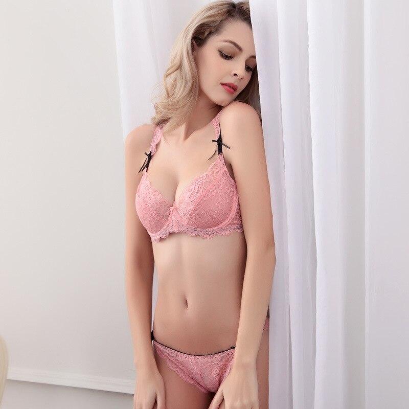 5ee1b8343 2017 new arrived Summer ultra thin without pad lace appeal sexy ladies bra  underwear set Girls bra-in Bra   Brief Sets from Underwear   Sleepwears on  ...