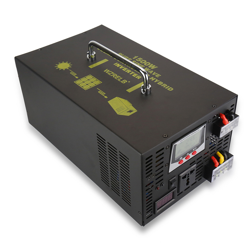 цена на 1500W Pure Sine Wave Hybrid Inverter 12V to 220V AC/DC to AC Solar Panel Power Inverter 24V/48V to 120V/230V/240V 30A Controller