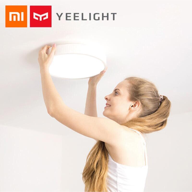 Yeelight YLXD01YL Plafond Intelligente Lumière Lampe Résistance À La Poussière Sans Fil À Distance Mi APP WIFI Bluetooth Contrôle Intelligent LED Couleurs