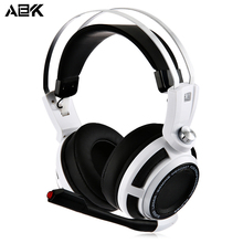 ALBK Professional Anti-noise Stereo 3.5MM Plug Gaming Headphones Headset Full Cover Ears With Colorful Lights For computer Gamer