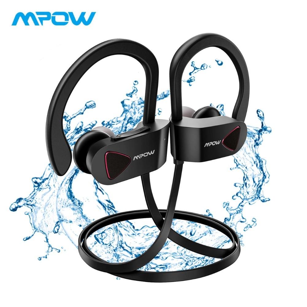 2019 Mpow D8 Drahtlose Kopfhörer Ipx7 Wasserdichte Sport Kopfhörer Hifi Stereo Drahtlose Ohrhörer Mit Mic/trage Fall Für Iphone