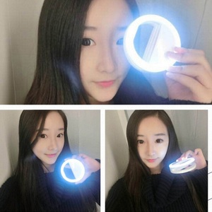 Image 5 - AINGSLIM Universal Selfie Ring Light Phone Selfie Luminous Ring LED Photography Flash Light For Xiaomi iPhone Sumsang Smartphone