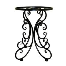 buy garden shelf and get free shipping on aliexpress Planter Trays indoor balcony metal iron flower stand tray home decoration flower planter stool floor garden shelf holder