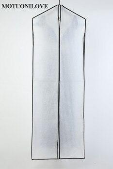 Di Alta Qualità A Doppia Faccia Tessuto Non Tessuto Multi Purpose Per Abito Da Sposa Copertura Antipolvere A Prova Di Sacchetto Di Indumento Sacchetto Di Immagazzinaggio M0811 Stampa LOGO