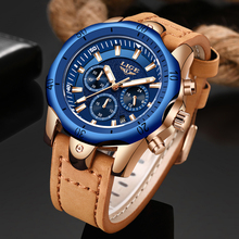 Erkek Kol Saati LIGE Watch Men Fashion Sports Quartz Mens Watches Top Brand Luxury Military waterproof Watch Relogio Masculino
