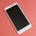 Черный/Белый Высокое Качество Рамка + ЖК-Дисплей Стекла Сенсорный Экран Digitizer Тяга Для Lenovo A850 + Плюс телефон Замена