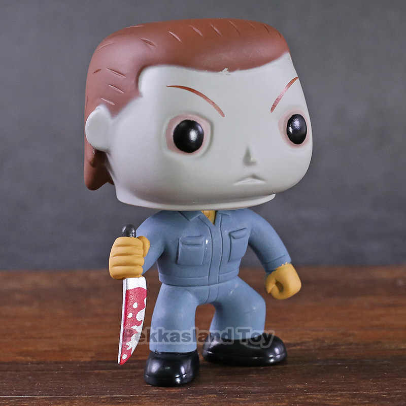 Halloween Michael Myers 03 Vinyl Figure Collectible Model Toy Car Decoration Doll Gift