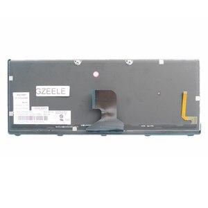 Image 3 - Gzeele eua teclado portátil para ibm para lenovo ideapad z400 z400a z400t série teclado do portátil com retroiluminado cor prata inglês