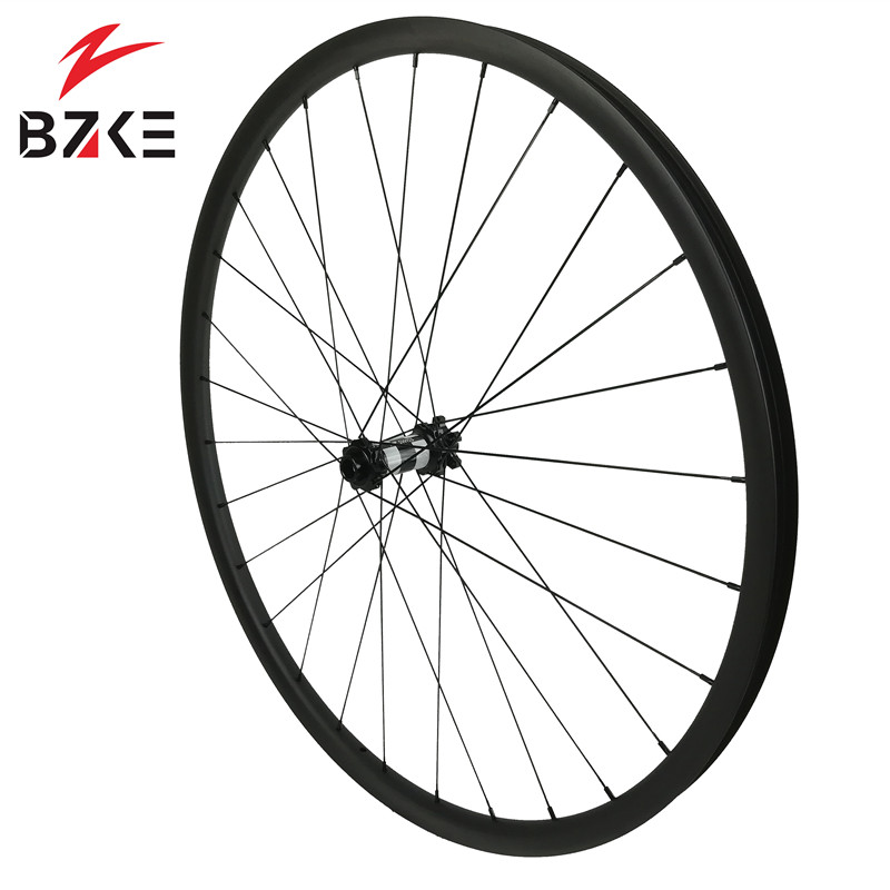 Image 4 - BZKE carbon wheels 30mm width 29 inch carbon mtb bicycle wheelset boost  carbon mtb wheels 29 bike wheelset 350 hubs-in Bicycle Wheel from Sports & Entertainment