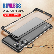Phone Case Frameless With Ring For Huawei Honor 20 pro V20 Mate 20 pro Mate 20x P30 P20 lite Mate 10 Pro Nova 3 3i 4 4e 5i цена и фото
