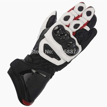 New 5 Colors 100% Genuine Leather GP PRO Motorcycle Long Gloves Racing Driving GP PRO Motorbike Original Cowhide Gloves
