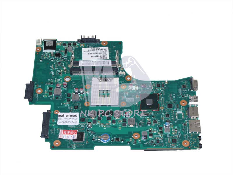 V000218080 Main Board For Toshiba Satellite L650 L655 Laptop motherboard 1310A2332402 HM55 DDR3 nokotion sps t000025060 motherboard for toshiba satellite dx730 dx735 laptop main board intel hm65 hd3000 ddr3