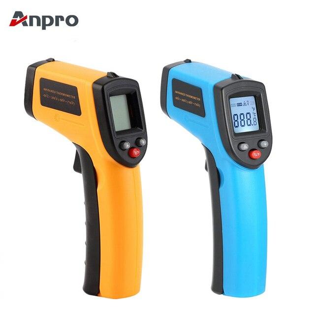 Anpro GM320 GM550 Digitale A Infrarossi LCD Termometro Senza Contatto Temperatur