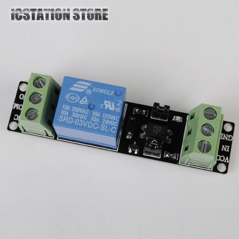 3V 1 Channel Relay Power Switch Module with Optocoupler High Level Trigger for ESP8266 Based Board Power Cycle Logic Level Board станок вп 600 в спб