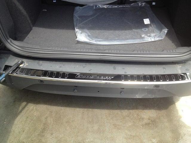 Auto rear bumper protector trims for ecosport 2013 2014 2015