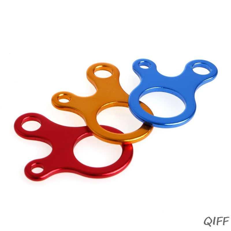 3 отверстия крюк брелок для кемпинга на открытом воздухе Пешие прогулки многофункциональный инструмент из нержавеющей стали