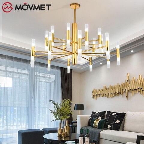designer de moda moderna ouro preto led teto arte deco suspenso lustre lampada luz para
