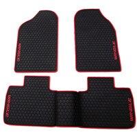 waterproof anti skip no odor green latex durable carpets special rubber car floor mats for Great Wall Wingle 5 Harvard M4H2