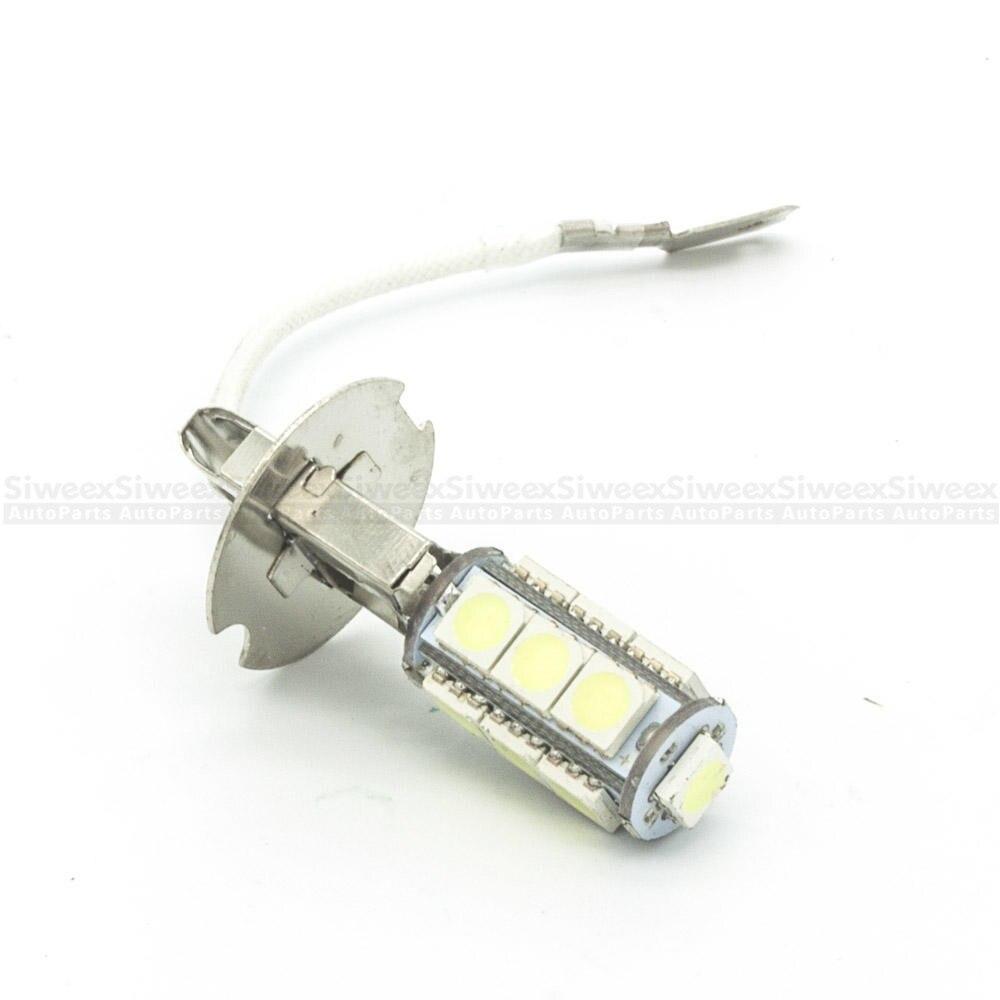 H3 PK22S 5050 Чипсы Белый 13 фара для поверхностного монтажа Яркость светодиодный лампы DC12V Авто противотуманных фар лампа 6500K