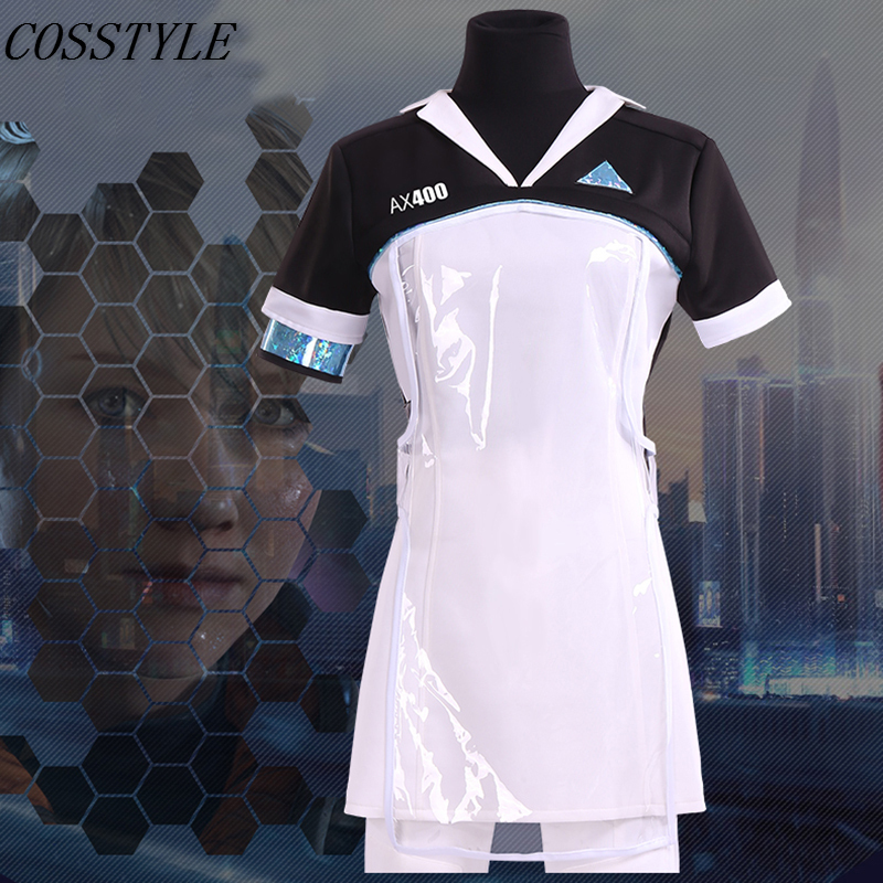 Become Human Markus Daily Cosplay Costume Uniform Suit Halloween Outfit Detroit