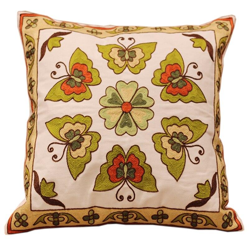 ⃝Venta caliente mariposa Bordado sofá Fundas de colchón 100 ...