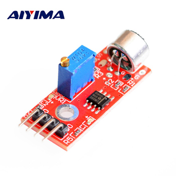 AIYIMA 1Pc Mini Jack 3MM High Sensitivity Microphone Sensor Module Microfono Amplifier Module DIY For Smartphone Microphone