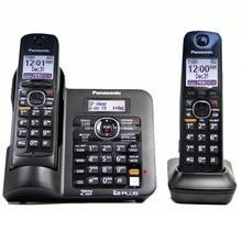 2 телефонов KX-TG6641 серии DECT 6,0 цифровой беспроводной телефон черный беспроводной телефон с автоответчик