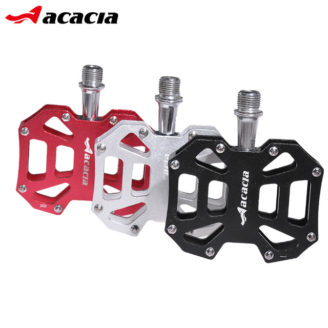 Acacia High Quality Aluminum Alloy Bicycle Pedal Hollow Mtb Road
