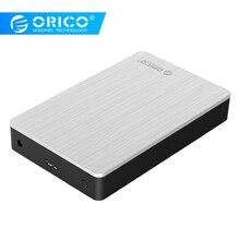 ORICO Алюминий 3,5 «USB3.0 к SATAIII случае внешний жесткий диск HDD корпус 8 ТБ 3,5 SSD/sata-адаптер для жестких дисков Поддержка UASPS Щепка