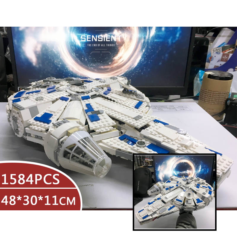 Star Wars Force Awakens Millennium toys Falcon Building Blocks 05007 79211 75212 75105 Toys For Children