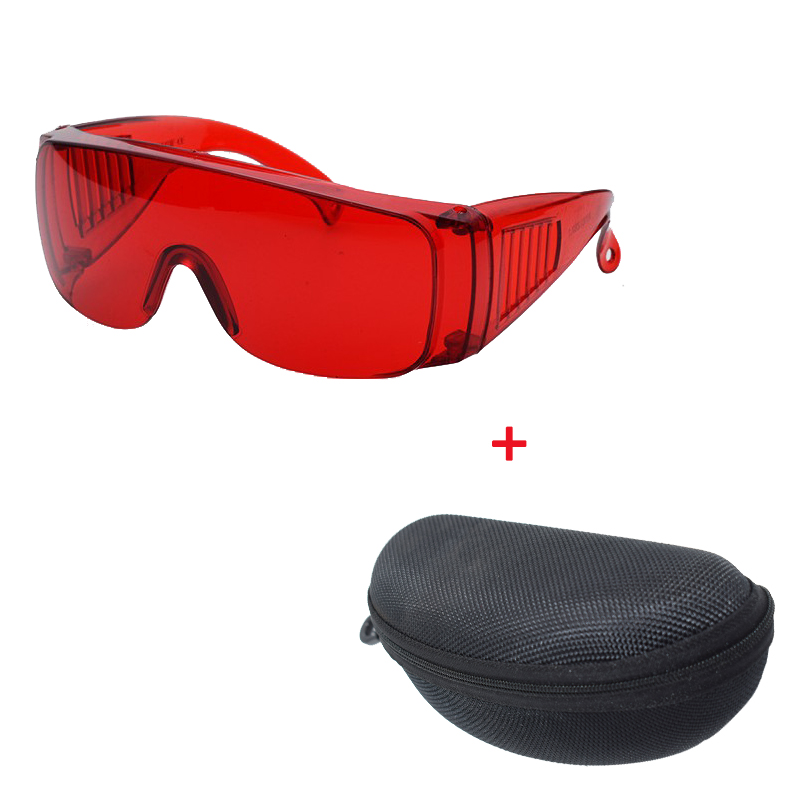 Safety laser Glasses Protective Motorcycle Goggles Dust Wind Splash Proof Lab goggles Anti Fog Works Safety Glasses +box+cloth