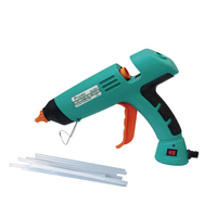GK 390H 80W Power Tool Professional Hot Glue Gun With + 10Pcs Glue Sticks Instant Heating Rapid Melt Glue Gun Hand Tools