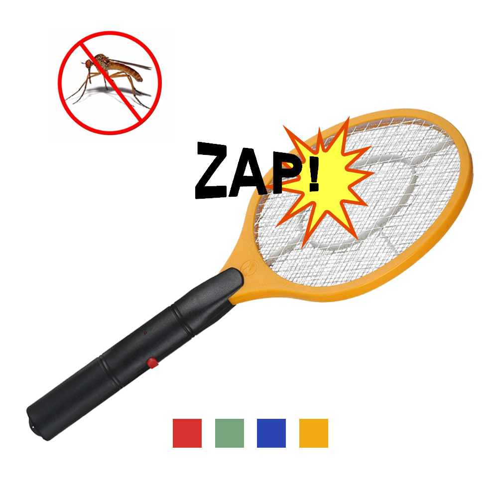 1PC Electric Mosquito Swatter Anti Mosquito Fly Repellent Bug Insect Repeller Reject Killers Pest Reject Racket Trap Home Tool