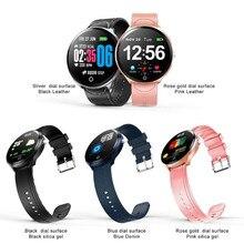 Waterproof touch color screen smart bracelet heart rate blood pressure sleep monitoring watch call reminder smartwatch wristband недорого