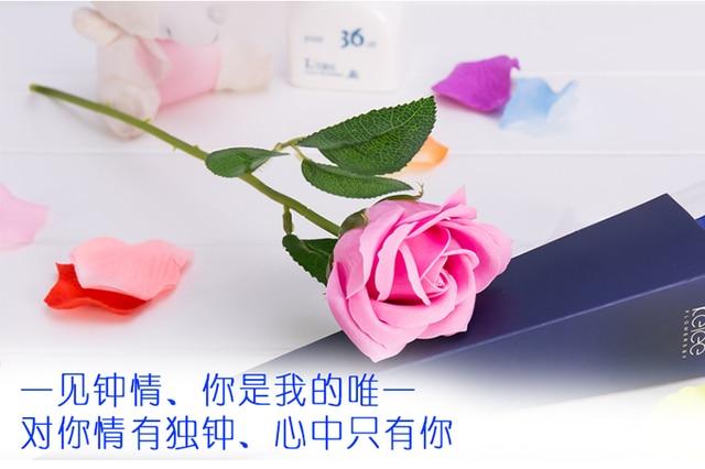 Popolare Sapone rose mazzi di fiore del sapone idee regalo per inviare la  NQ12