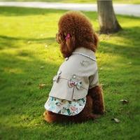 Lente Herfst Hond Kleren Warme Honden Jassen Mode Huisdier producten Kostuum Kat Apparel Roupas Para Cachorro Voor Kleine Hond Puppy