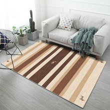 200*300cm Nordic geometric trend simple stripe carpet Modern rectangle Living room coffee table sofa Floor Mat rug Bedroom bedsi