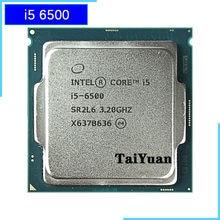 Intel Core i5-6500 i5 6500 3.2 GHz dört çekirdekli dört iplik 65W 6M CPU İşlemci LGA 1151