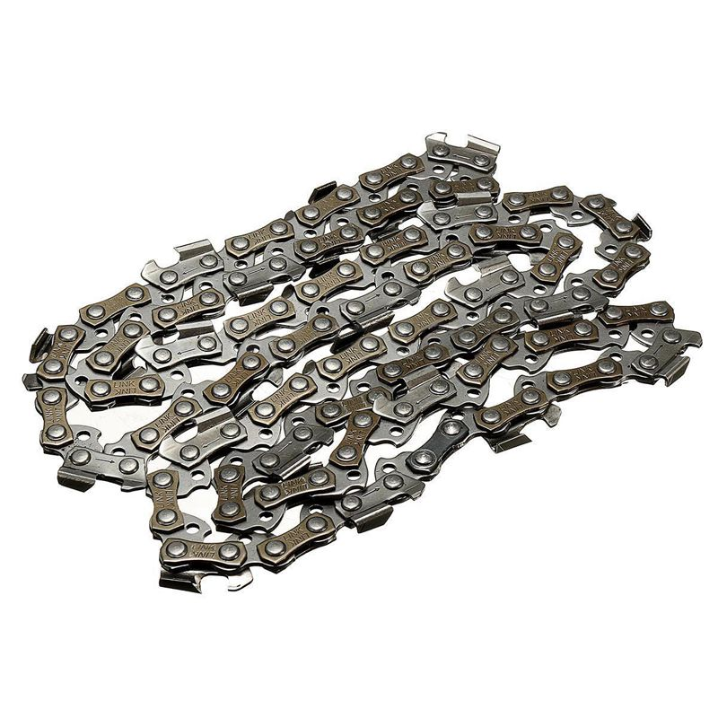 Manganese steel alloy 14 inch Chainsaw Chain Blade Wood Cutting Chainsaw Parts 50 Drive Links 3/8 Pitch Chainsaw Saw Mill Chain 2 pcs gear sprockets drive replacement chainsaw chain drive sprocket 221514 8 for makita 5016b 5012b electric chain saw