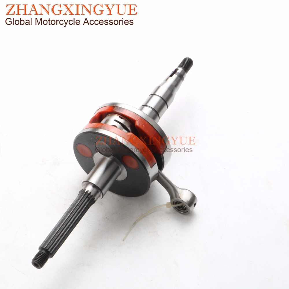Racing quality crankshaft for APRILIA Area 51 Gulliver 50 Rally Sonic SR50(AC LC 94-97 Netscaper WWW ) 2T JOG Piston pin 10mm 19mm carburetor for eton beamer aprilia sr50 jog zuma minarelli jog 50 90 50cc 90cc pz19j sr50 scooter atv buggy
