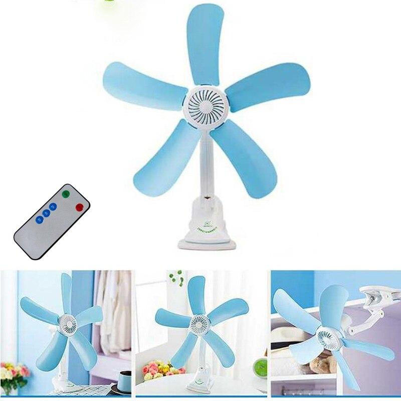 5 Leaves Electric Clip Fan Breezer Cooler Stroller Fans Electric Fan Multifunction Ventilateur Wall Hanging Table Folder Fan