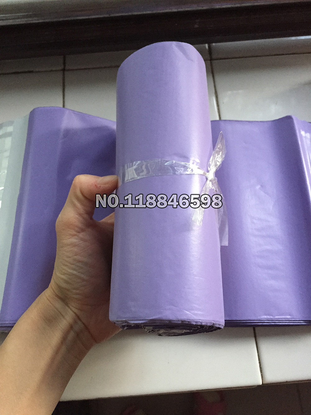 200Pcs Lot Purple Self Adhesive Post Mailing Package Mailer Bags Glue Seal Express Shipping Packaging Courier