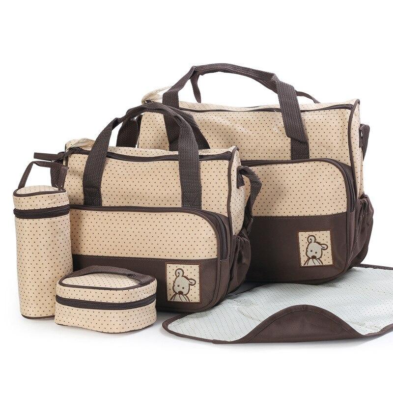 5 pçs/set mulheres sacolas do Function : Wear Resistant, Waterproof