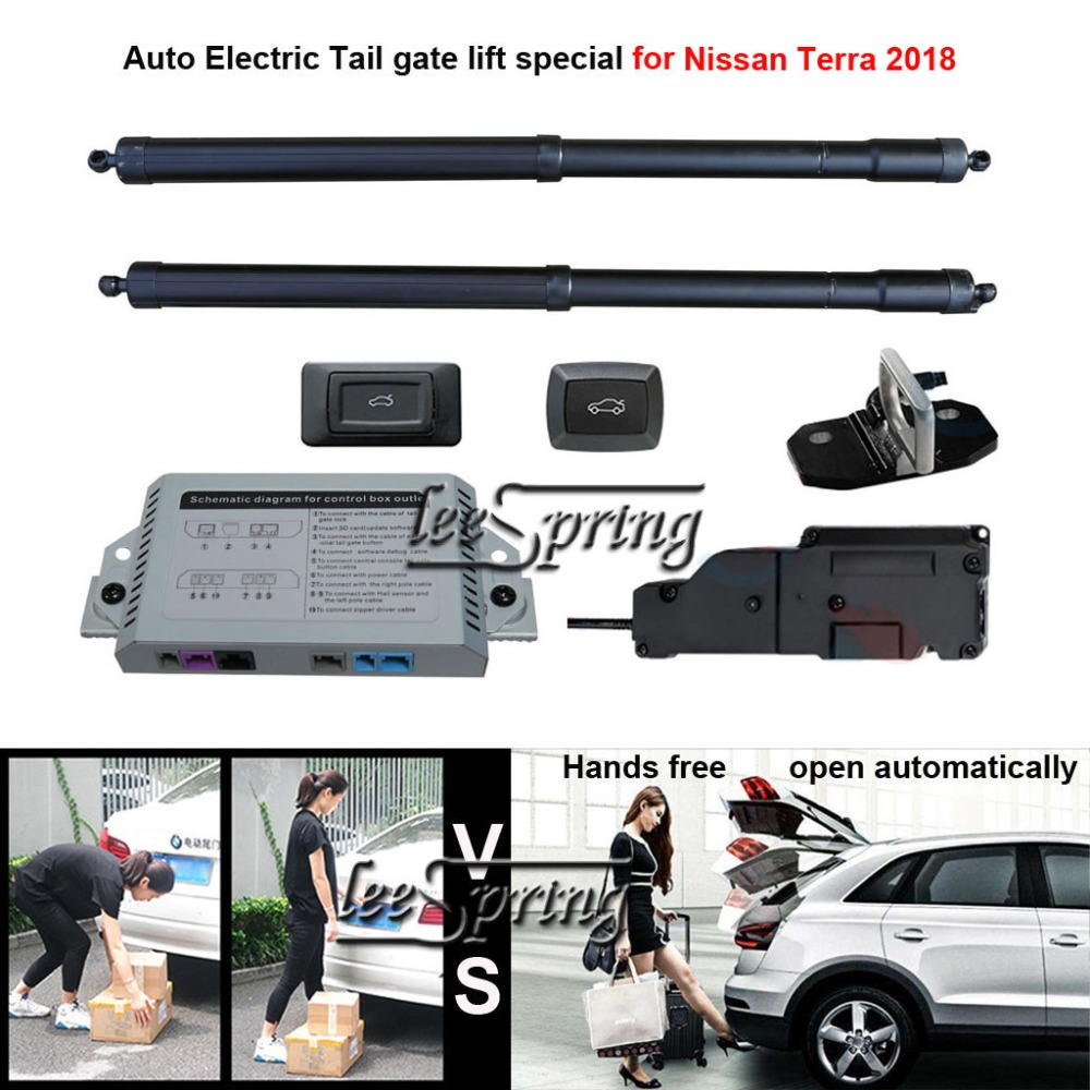 Car Electric Tail Gate Lift Special For Nissan Terra 2018 With Latch