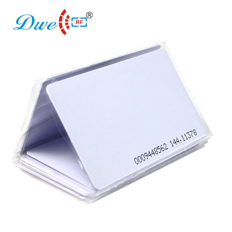 125khz EM Marine Thin Card Plastic TK4100 ID Thin Card With Ink Jet Printing Numbers